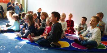 Przedszkole nr 8 Montessorii z wizytą w SMS
