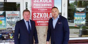 Wizyta Przewodniczącego Rady Rejonowej Użgorodu - Pana Руслан Чорнак