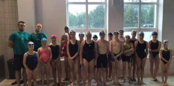 Obóz pływaków w Łańcucie