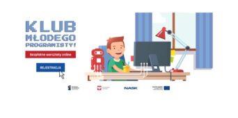 Klub Młodego Programisty - warsztaty online