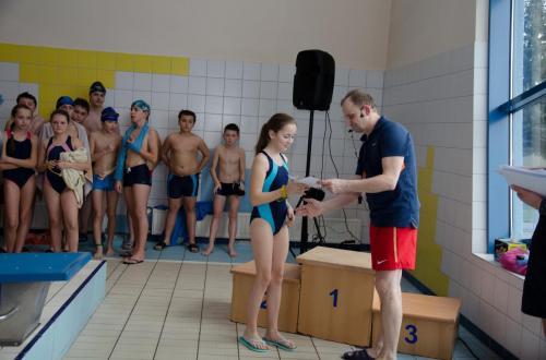 """Szkolne Zawody w Pływaniu """"Pływaj z Nami"""""""